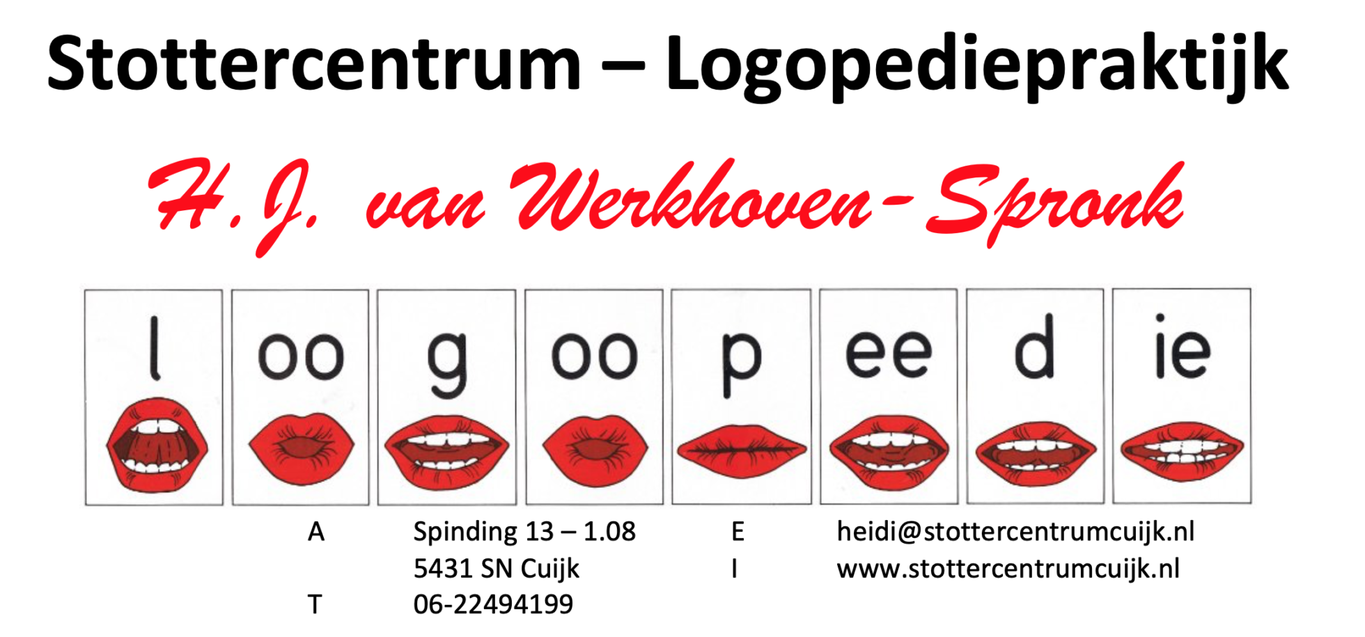 Stottercentrum -Logopediepraktijk Cuijk